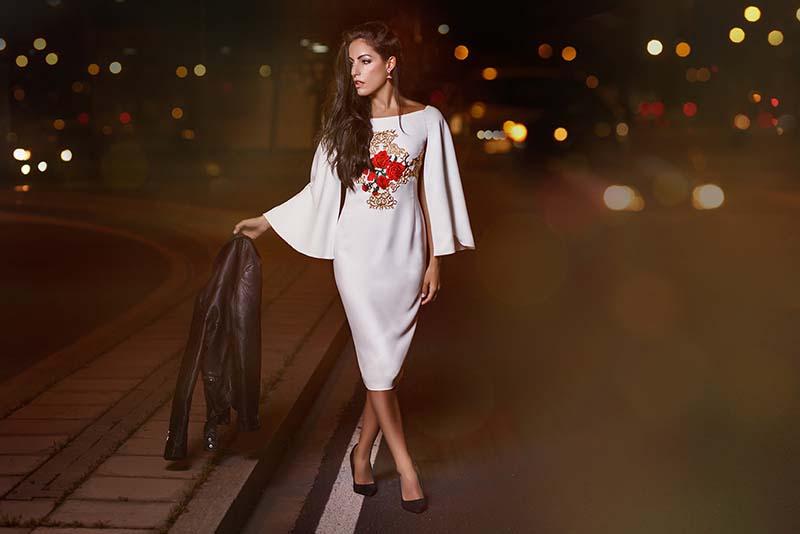 Vestidos de fiesta para boda y eventos de tarde y noche Collection Nuribel