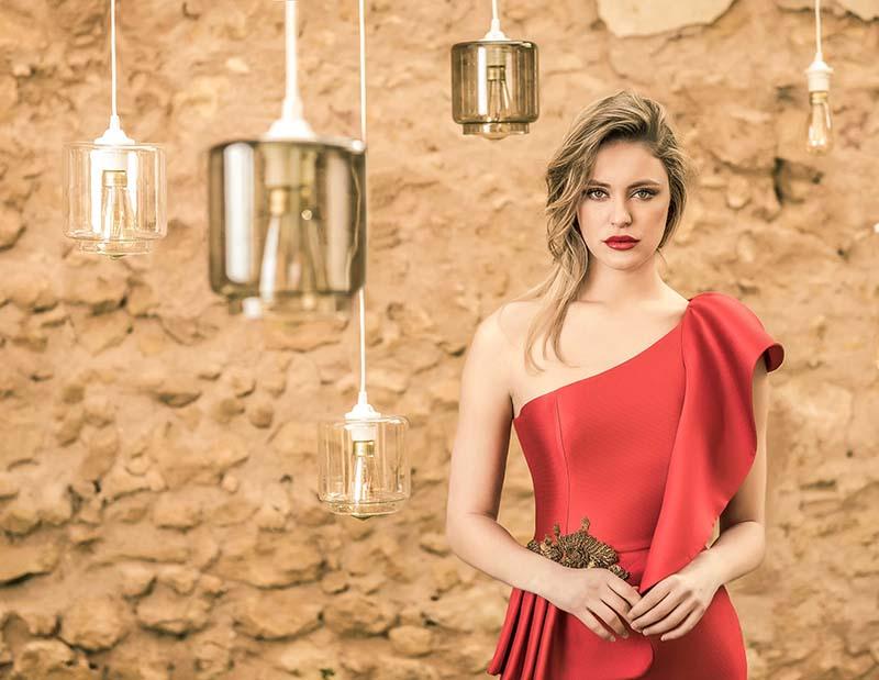 Vestidos de fiesta y novia alta costura Couture Nuribel