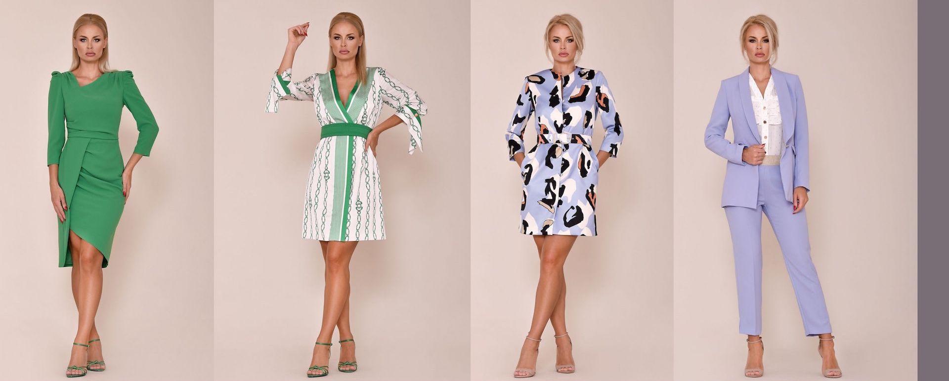 vestidos y conjuntos para primavera verano