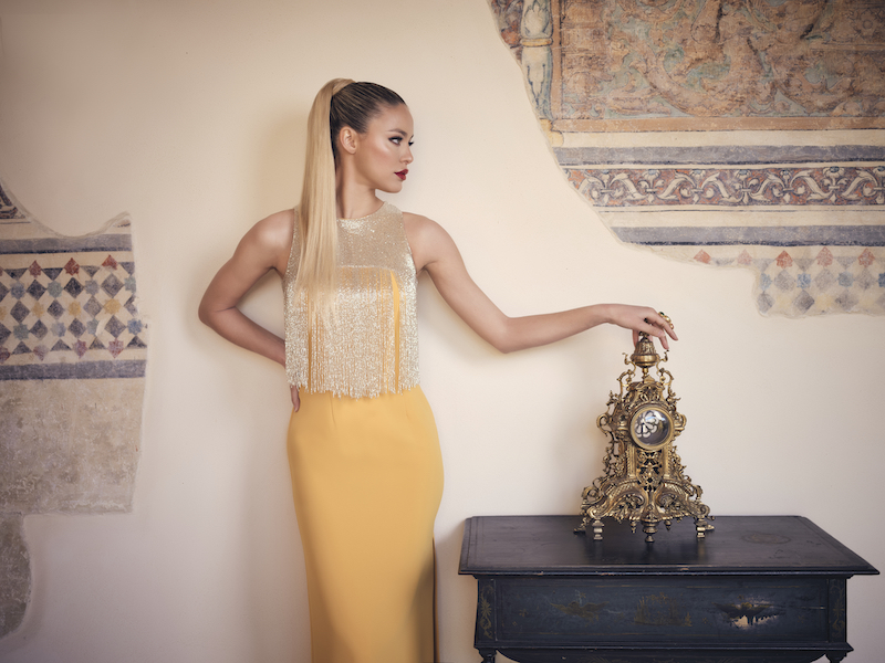 Vestidos de fiesta y novia alta costura Nuribel Couture