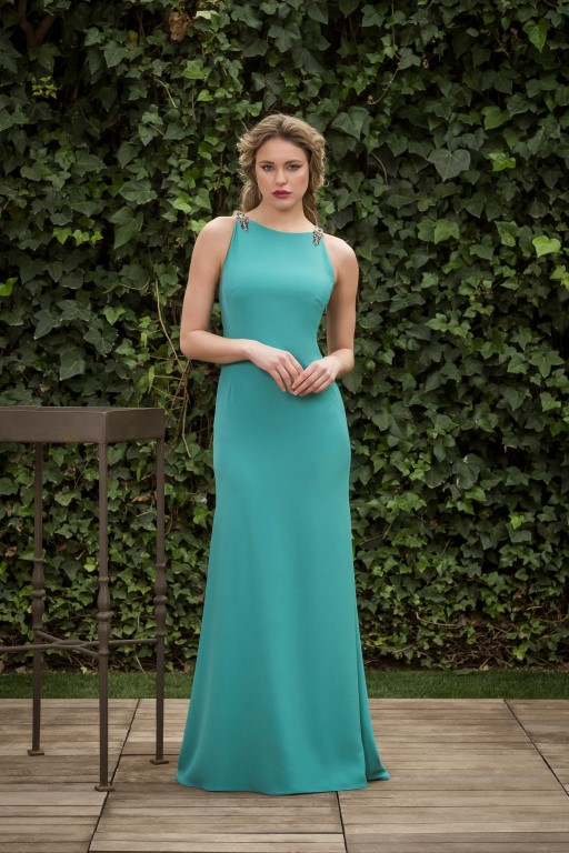 Vestidos verde agua 2019