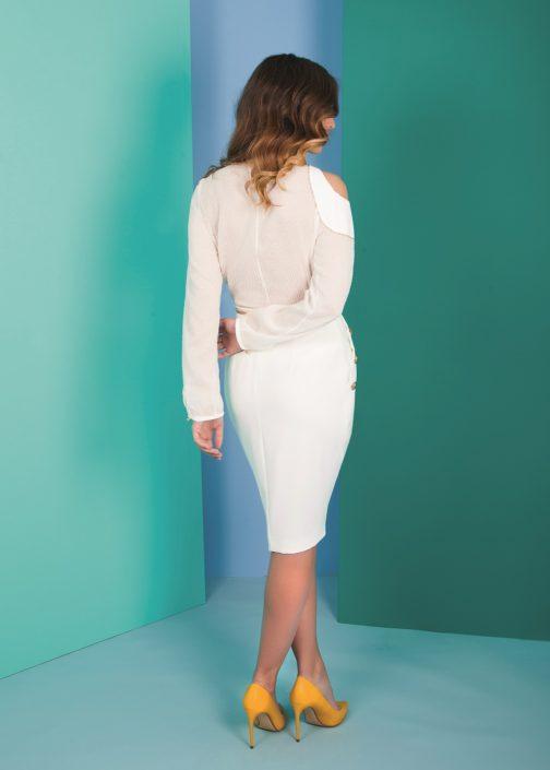 top falda para comunión mujer
