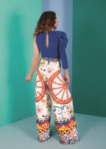 top pantalón para invitada perfecta