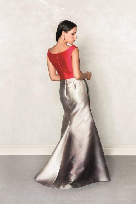 vestidos románticos largos