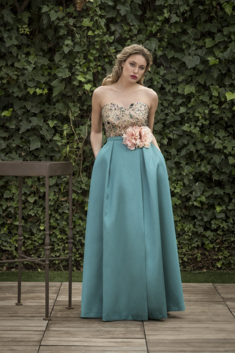 vestido hermana novia