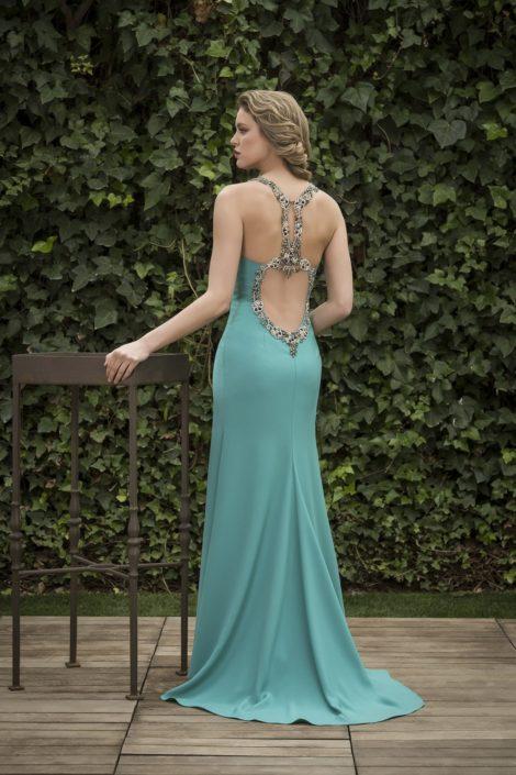 vestido largo para boda