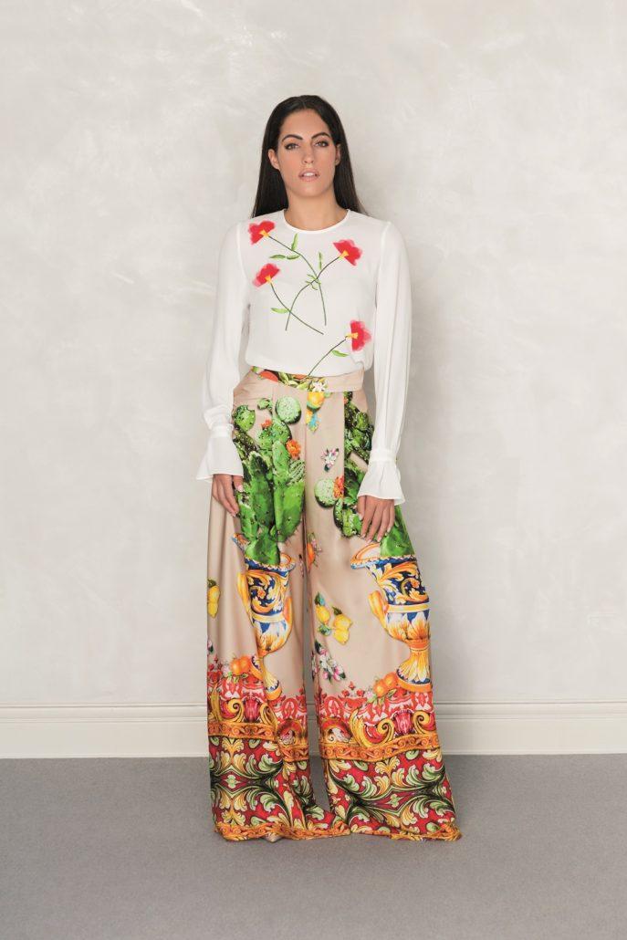 Nuribel Pantalones Anchos Para Mujer