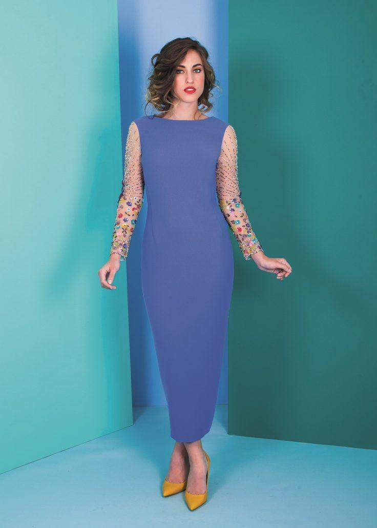 vestido de cóctel