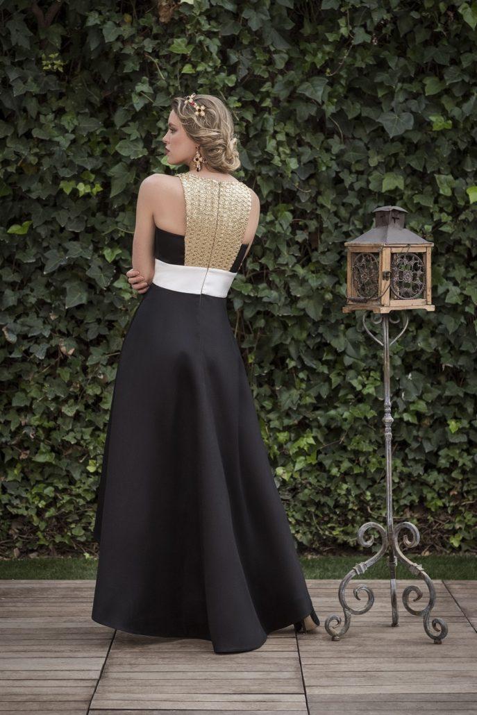 vestido elegante para boda de noche