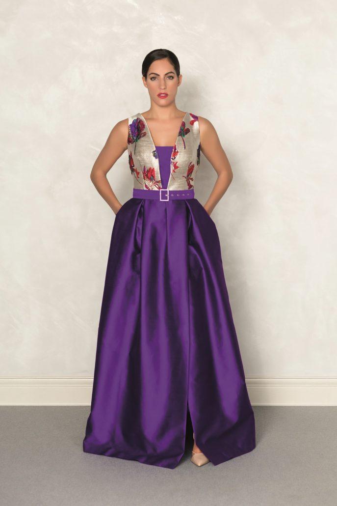 vestido largo invitada perfecta