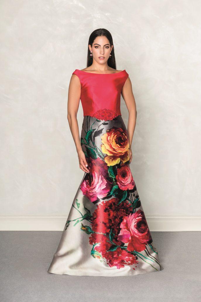 vestido largo invitada