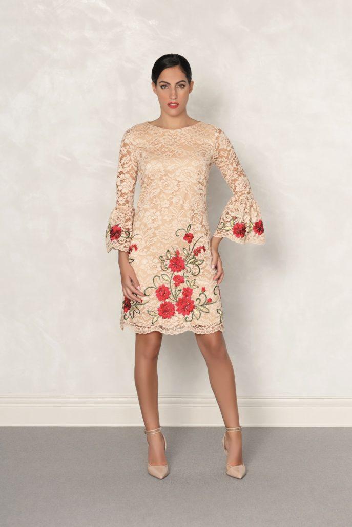 vestido elegante mujer
