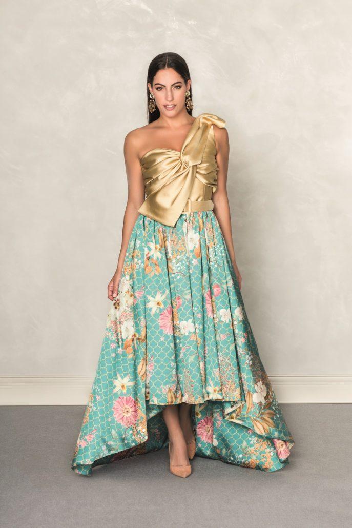 vestido elegante para bodas