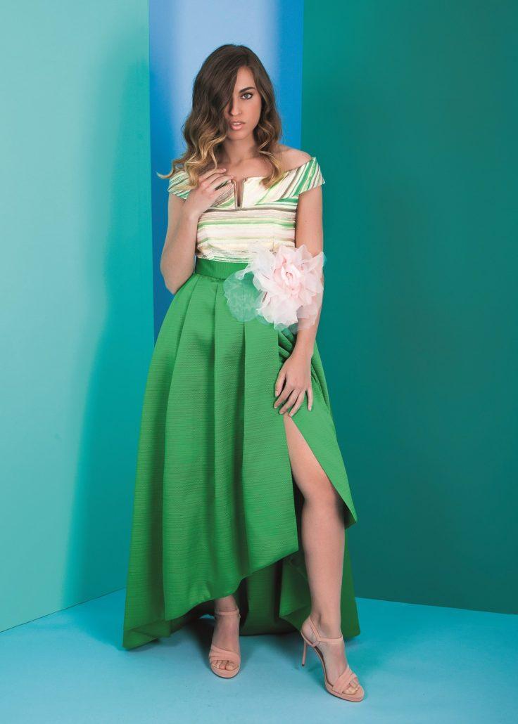 vestido para fiesta elegante