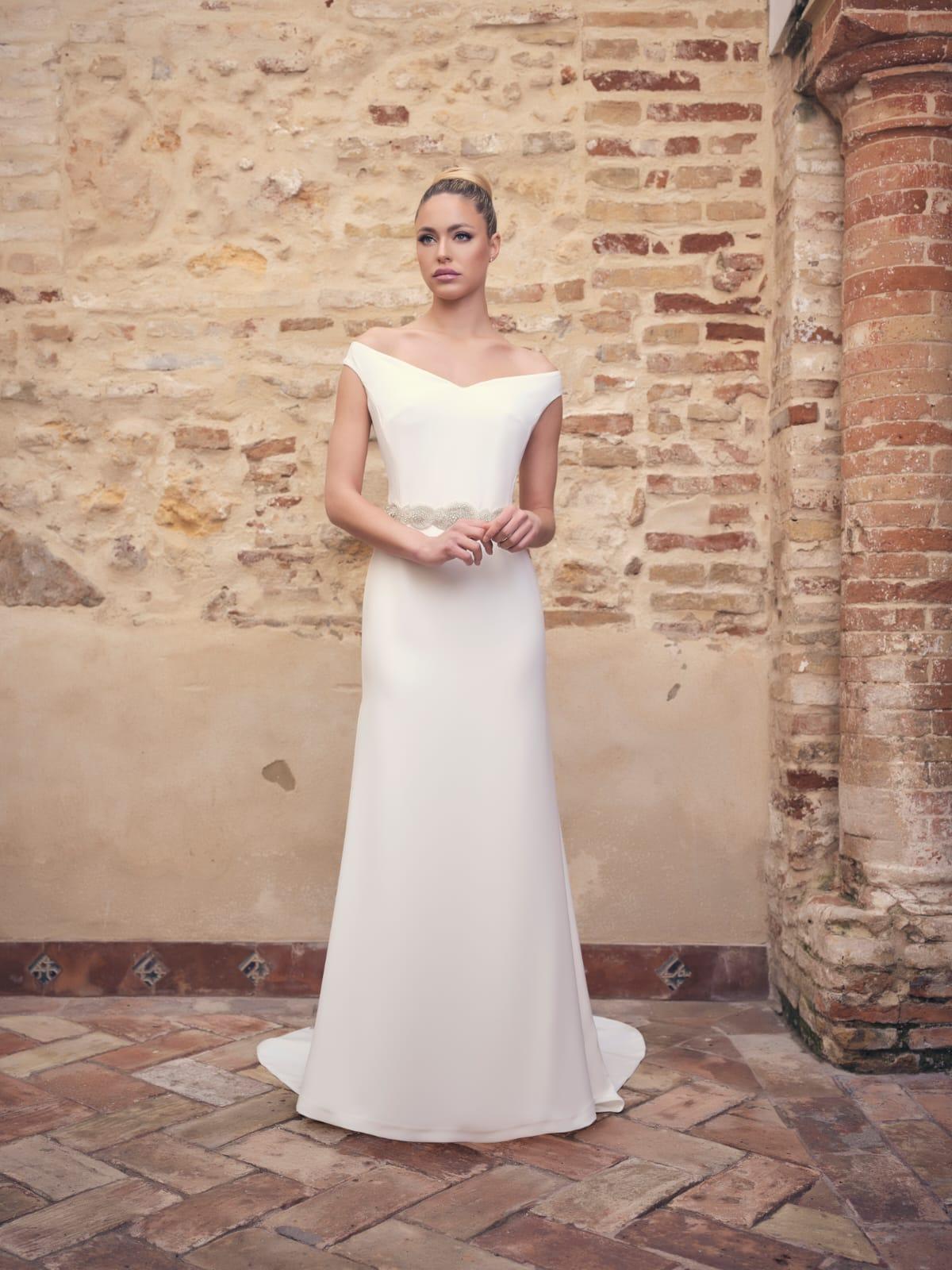 vestido de novia mas bonito tradicional