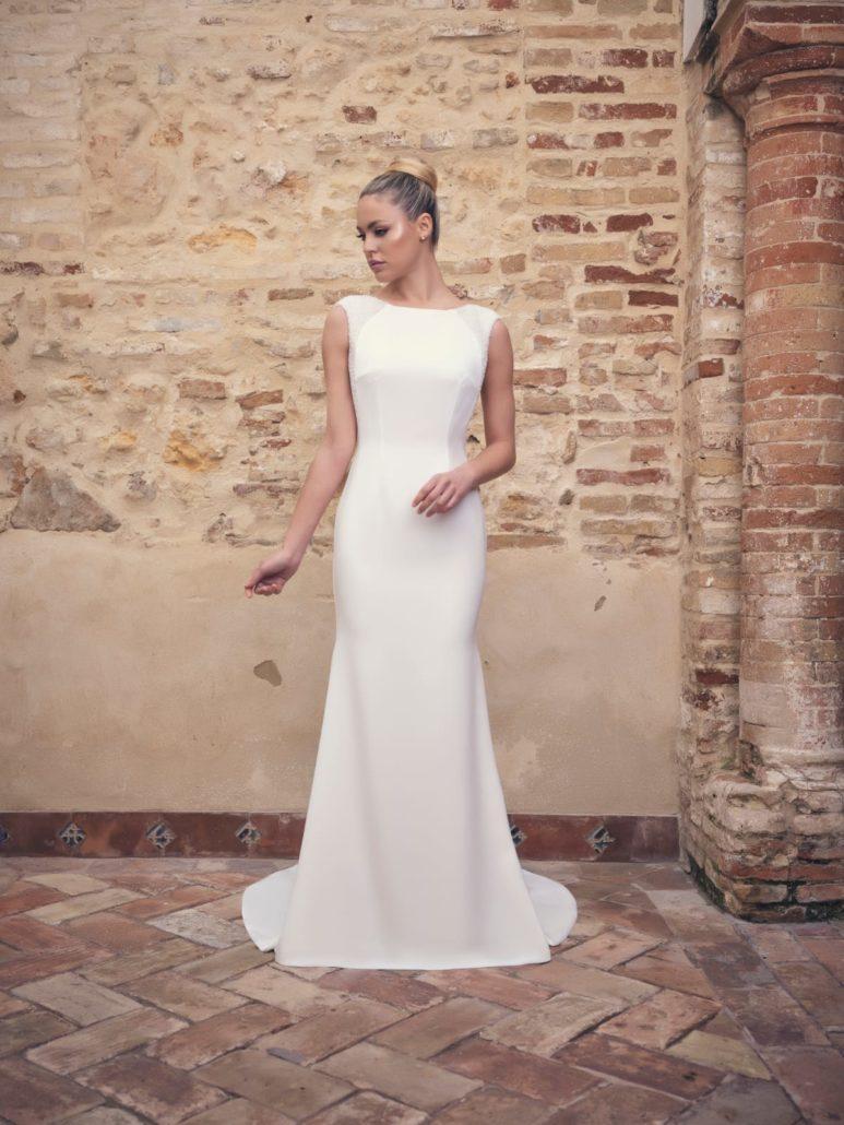 moda vestidos de novia simples