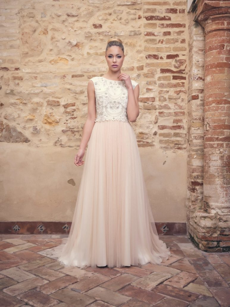 modelos d vestidos de novia falda de tul