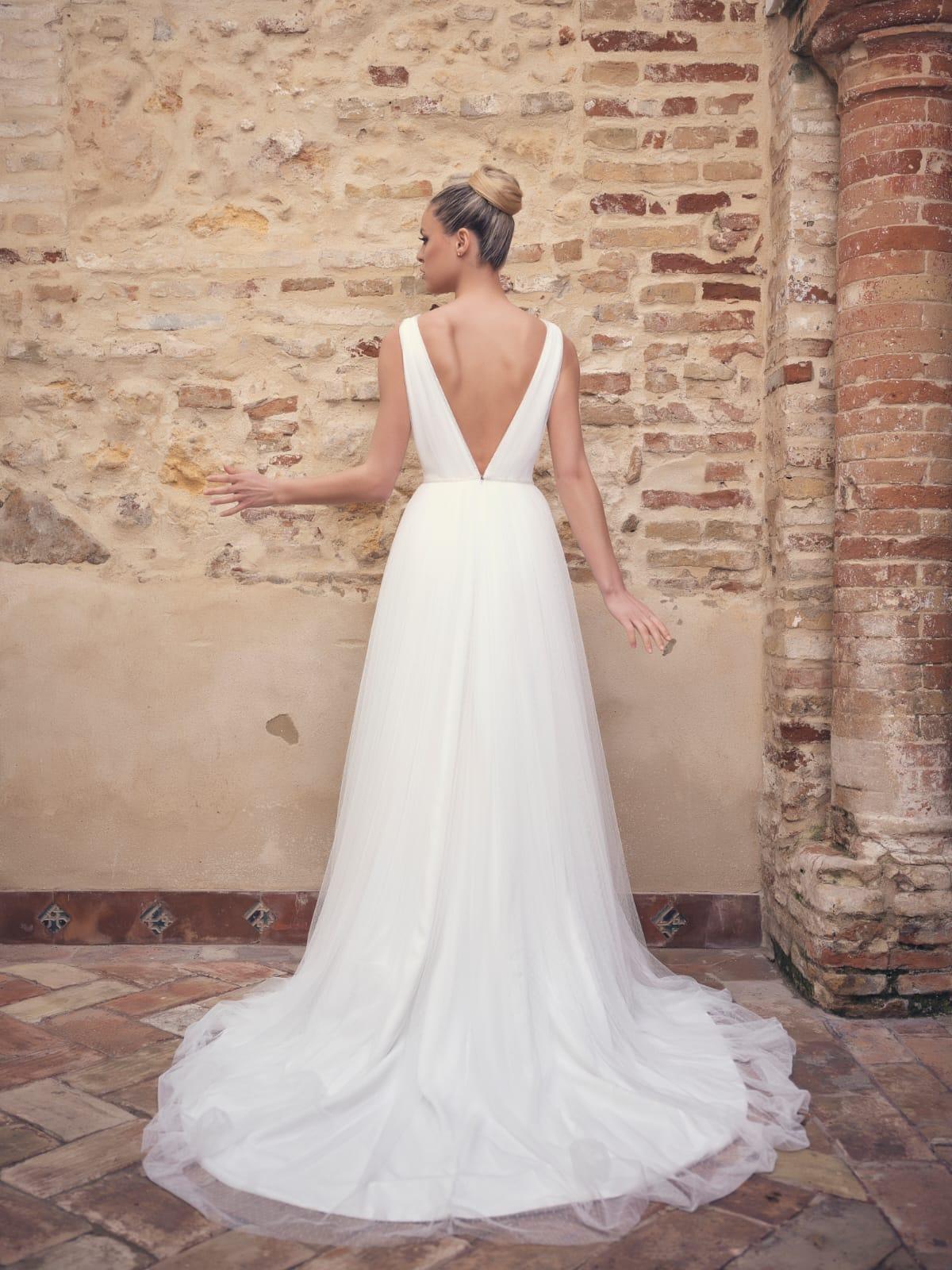 Vestido de novia falda de tul