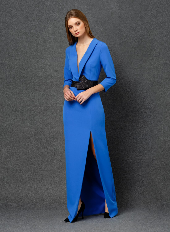 Vestido largo de fiesta colección 2020
