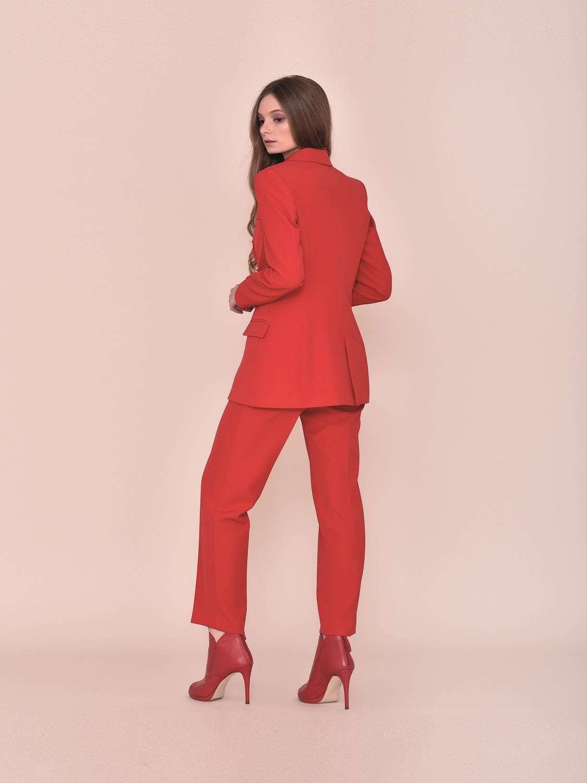 Chaqueta blazer roja de vestir 2020