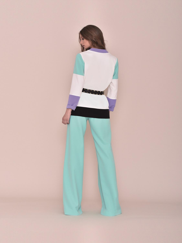 Chaqueta de vestir con toques turquesa 2020 primavera-verano