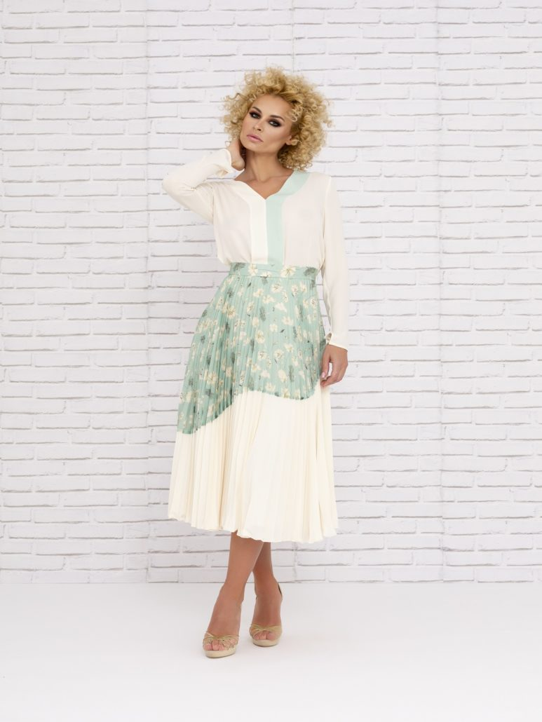 Conjunto de falda mamá de comunión primavera 2020