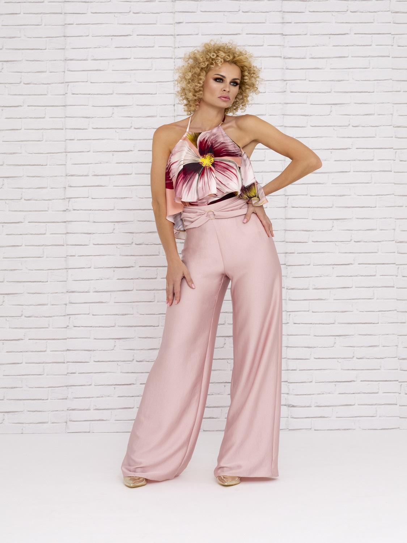 Conjunto de pantalón para boda verano 2020