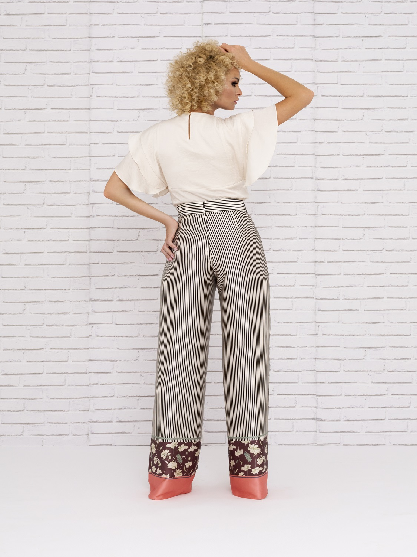 Conjunto de vestir de pantalón temporada verano 2020