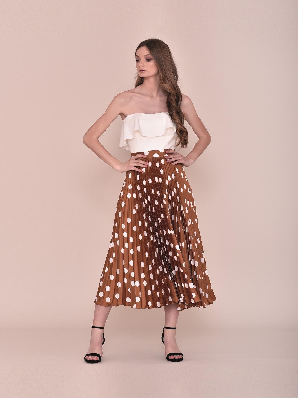 Conjunto falda estampada verano 2020