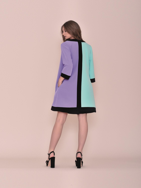 Levita de vestir juvenil tricolor 2020 primavera