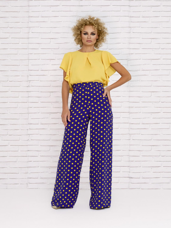 Pantalones de fiesta con lunares 2020