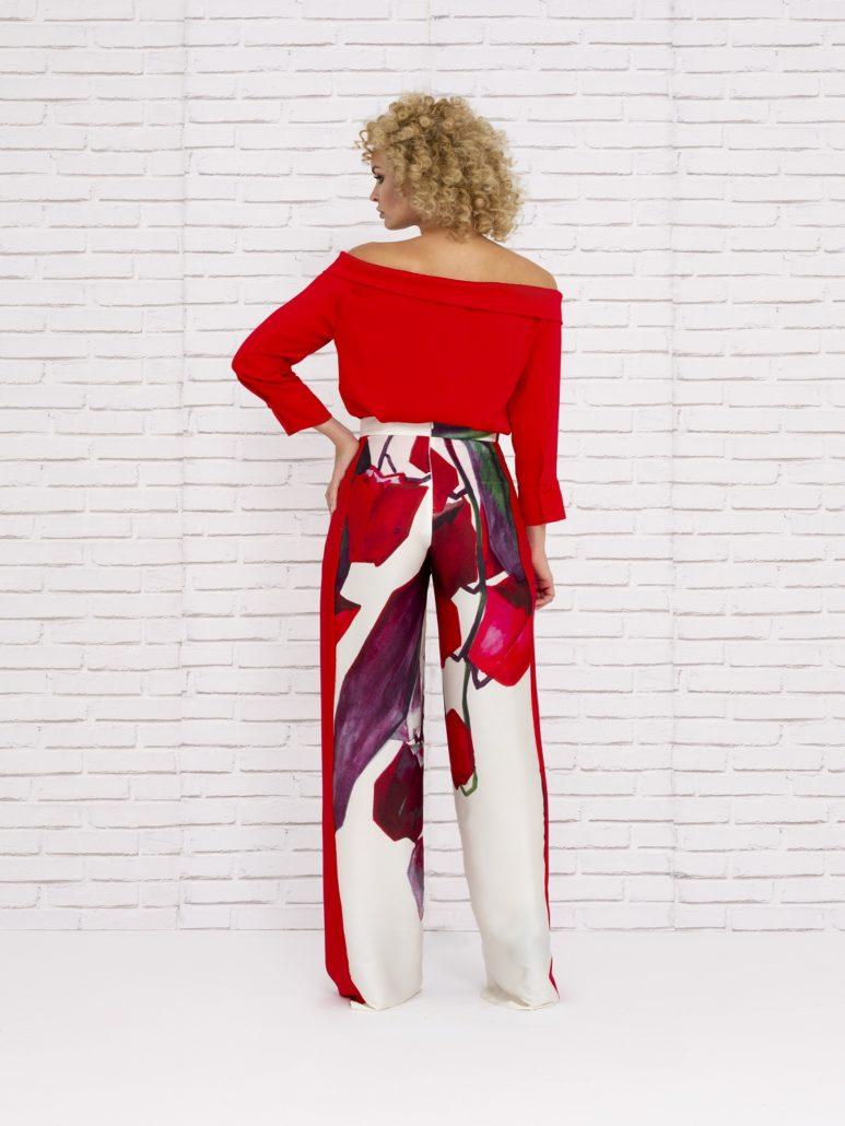 Pantalones de fiesta estampados 2020 verano