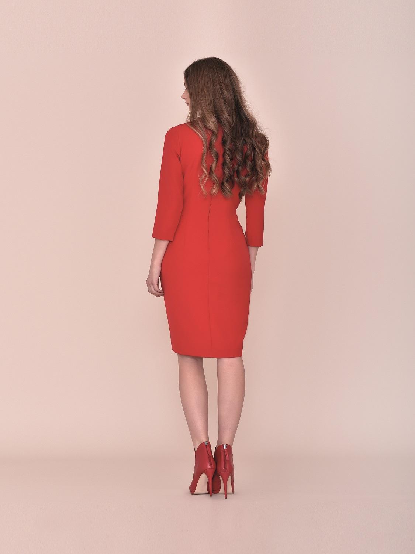 Vestido cóctel en rojo 2020