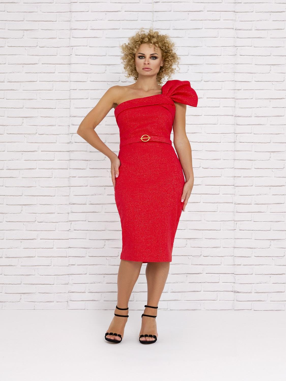 Vestido corto Rojo verano