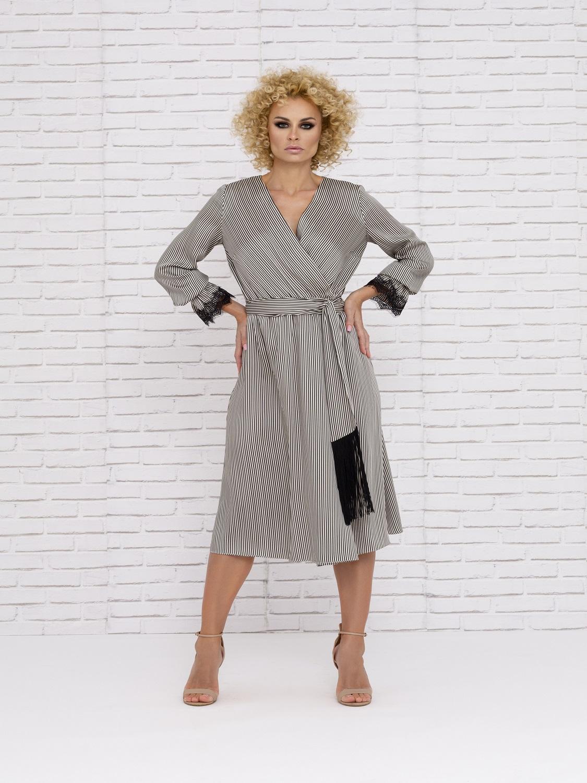 Vestido de Cóctel de con detalles 2020