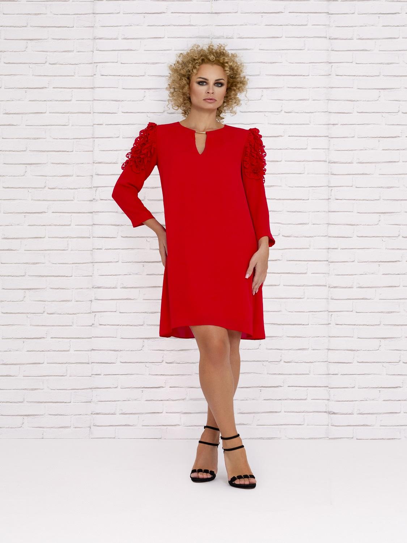 Vestidos cortos fiesta 2020 rojo para invitadas