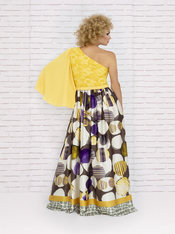 Vestido fiesta con falda larga verano 2020