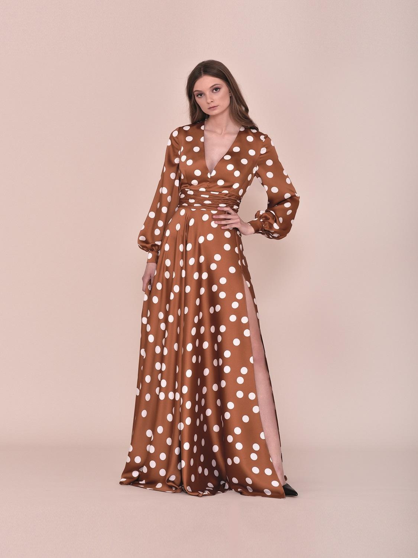 Vestido largo primavera 2020
