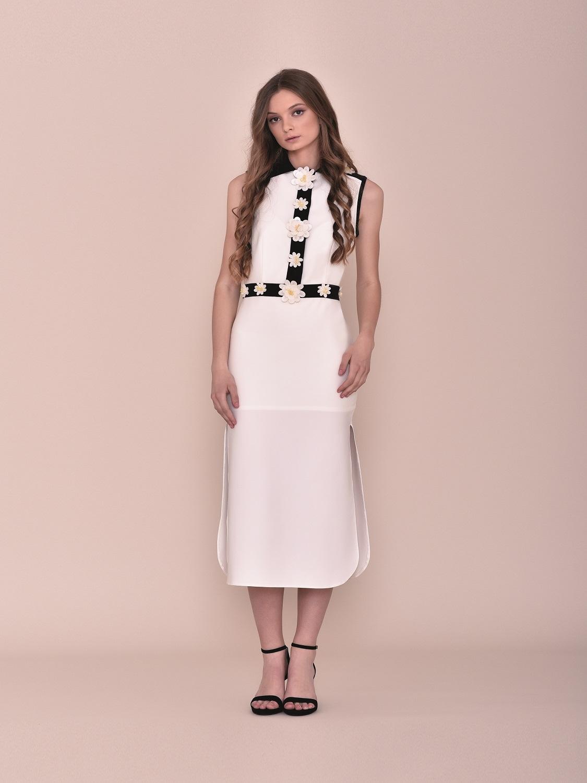 Vestido largo verano 2020 blanco