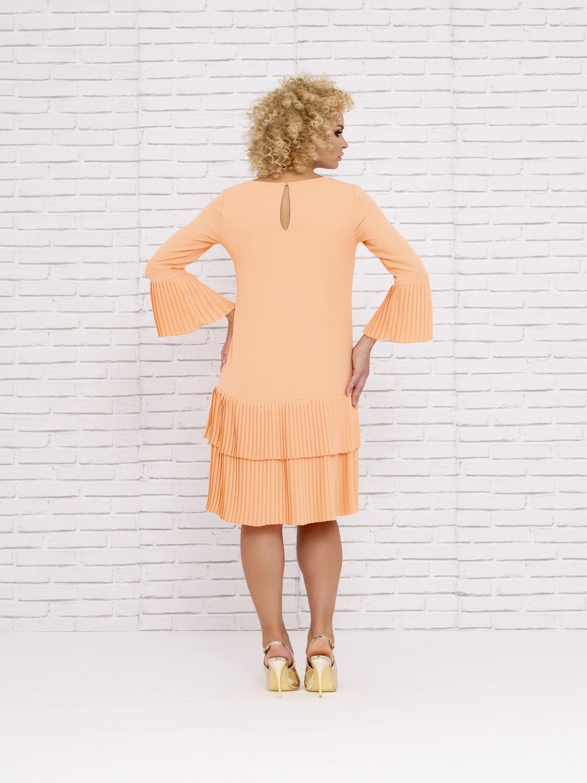 Vestido mamá de comunión con magas de farol 2020