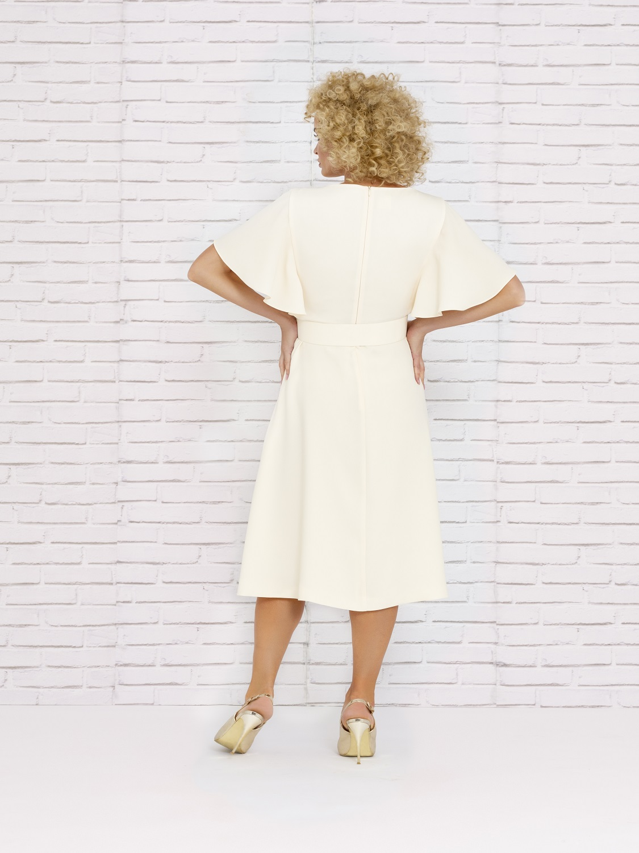 Vestido mamá de comunión corto 2020 verano