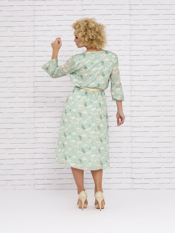 Vestido mamá de comunión floreado 2020