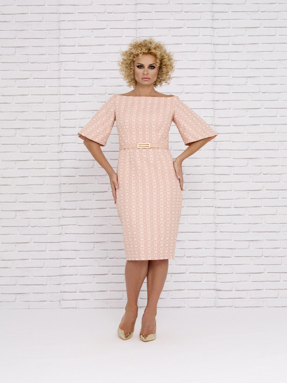 Vestido midi mamá de comunión estilo retro 2020