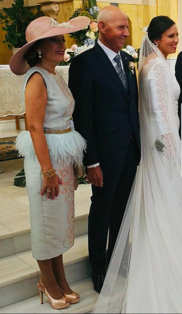 Vestido para madre de la novia