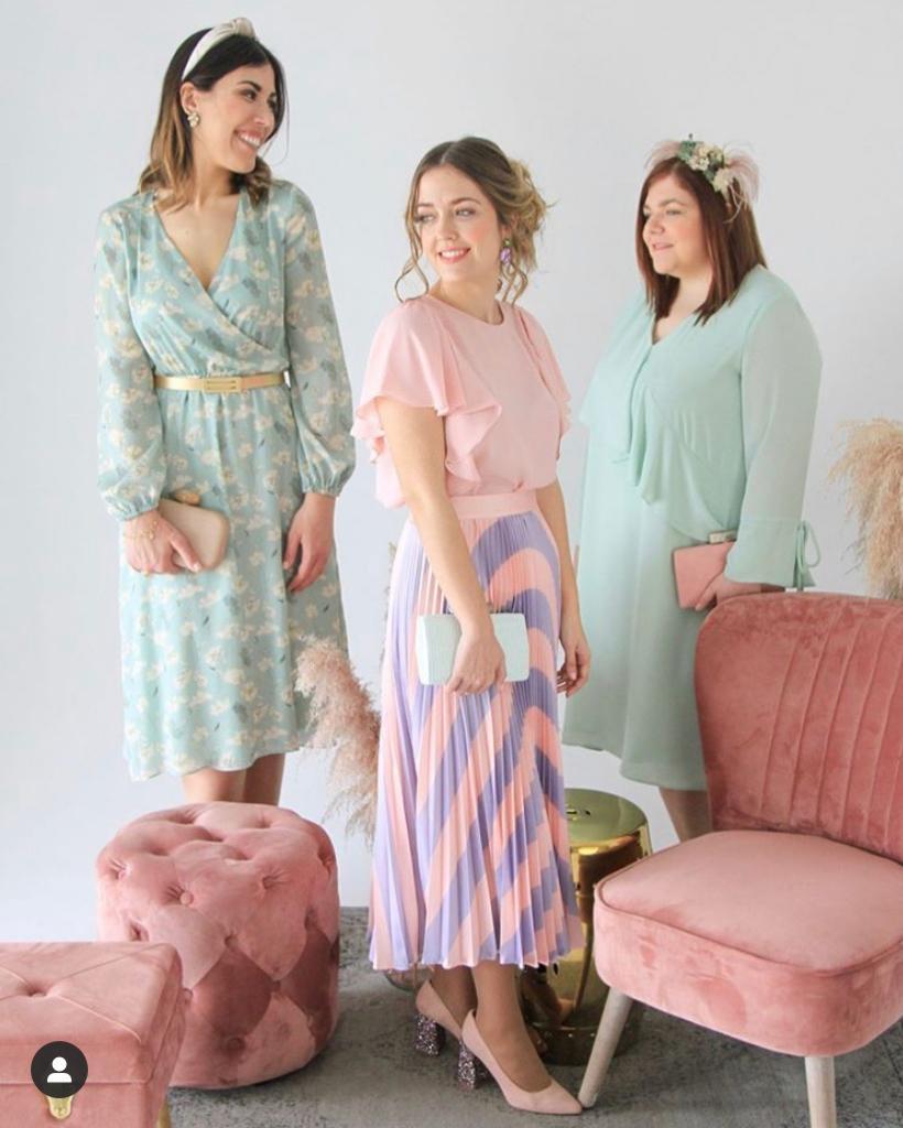 Vestidos de cóctel para invitadas