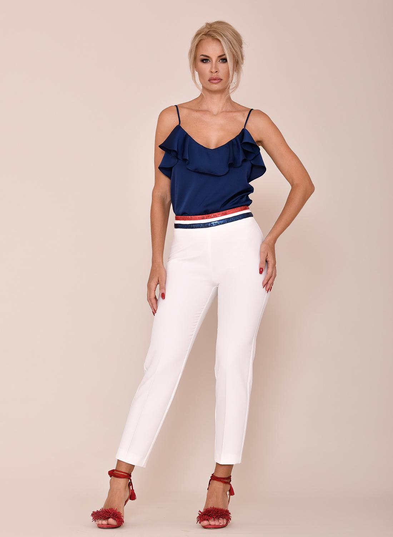 Pantalón blanco con cinturilla original