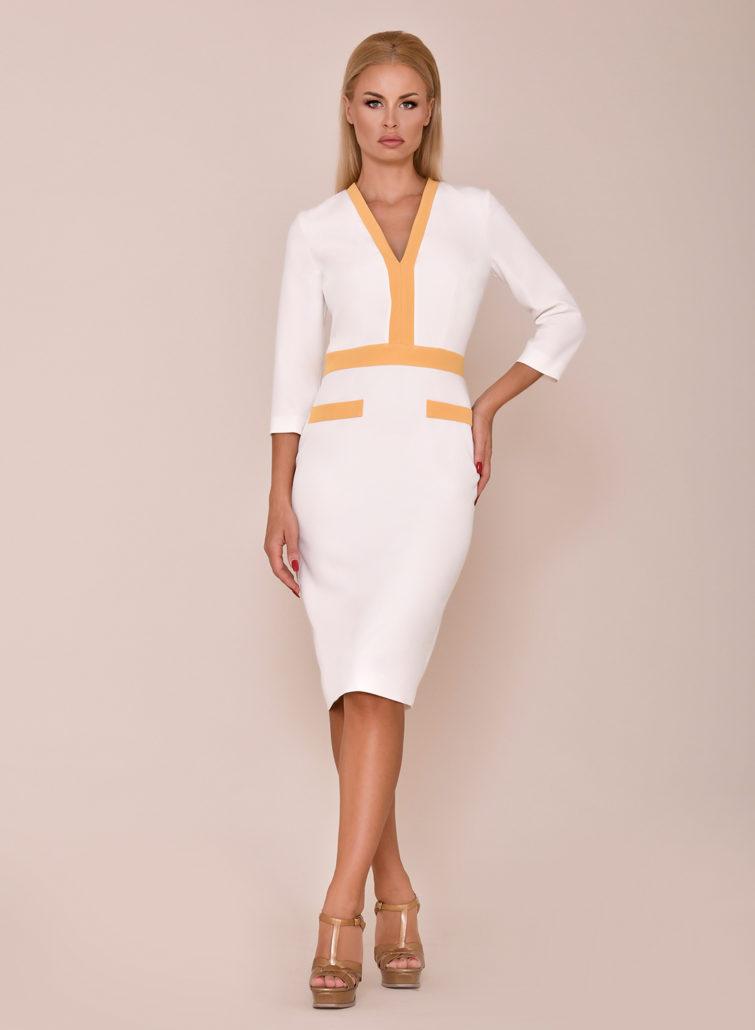 vestido blanco mamá comunión